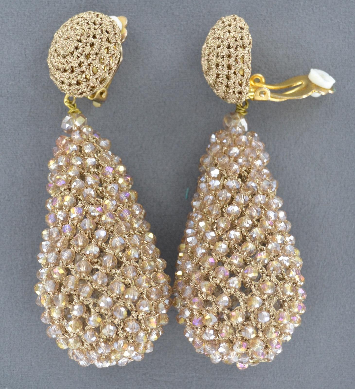 Image of Ohrringe Filini Drop Gold